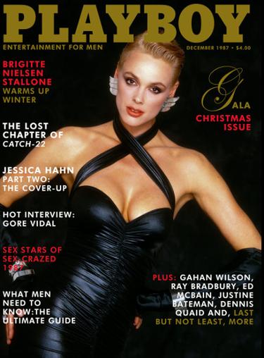 Brigitte Nielsen, December 1987