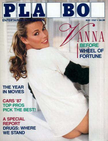 Vanna White, May 1987