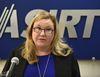Susan D. Hughson of the Alberta Serious Incident Response Team (ASIRT) discussing an allegation of sexual assault on a woman involving an RCMP officer, in Edmonton, Thursday, March 30, 2017. Ed Kaiser/Postmedia