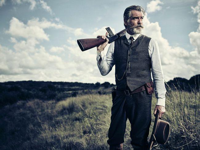 "Pierce Brosnan stars in AMC's ""The Son."" (AMC photo)"