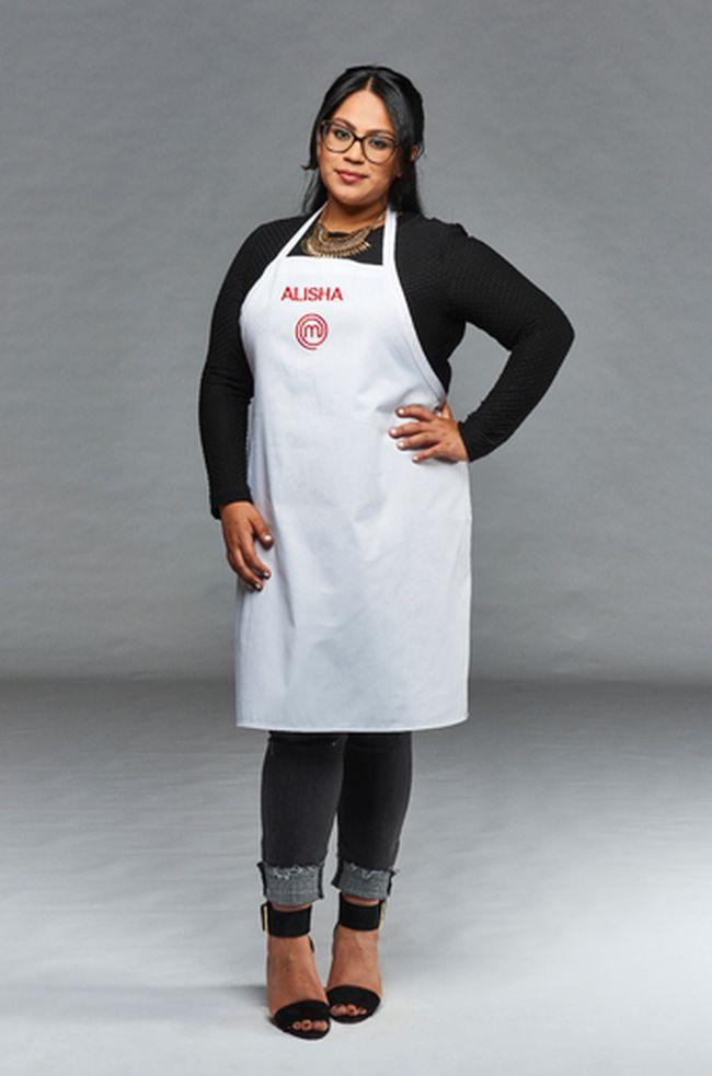 "Homecook Alisha Sood was eliminated on ""MasterChef Canada."" (Bell Media photo)"