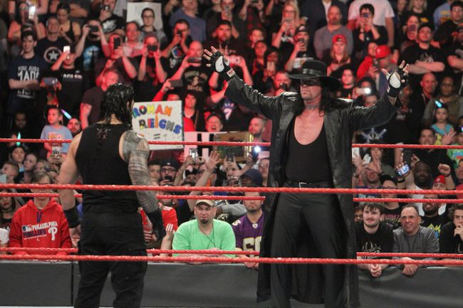 WWE stars praise Undertaker's WrestleMania reign   The ...