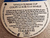 Wholesome Farms' Vanilla Sundae Cups
