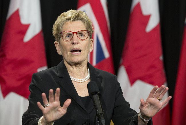 Premier Kathleen Wynne. (STAN BEHAL/TORONTO SUN)