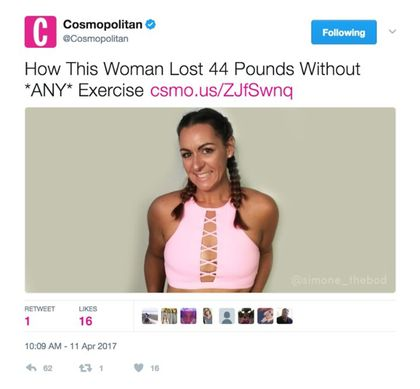 Cosmo twitter