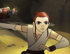 """Star Wars Forces of Destiny."" (Screenshot)"