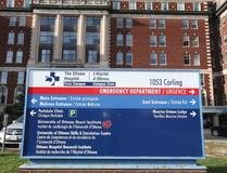 The Ottawa Hospital on Carling Avenue. JEAN LEVAC / OTTAWA CITIZEN