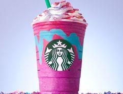 Unicorn Frappuccino (Starbucks)