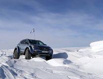 Driving across Antarctica isn't for the faint-of-heart