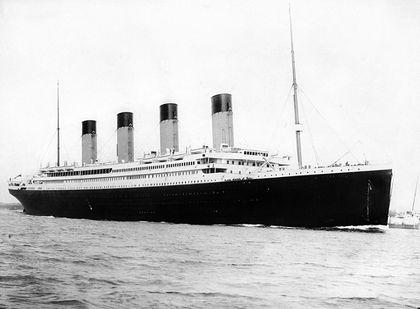 RMS Titanic departing Southampton on April 10, 1912. (Wikimedia Commons)