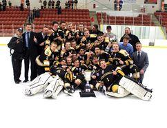 The Strathcona Midget AA Warriors. Photo supplied