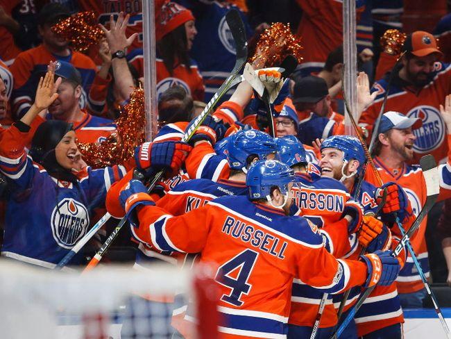 Oilers win in OT over Sharks