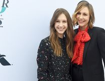Actors Taissa Farmiga (L) and sister Vera Farmiga attend The Hollywood Reporter's Annual Women in Entertainment Breakfast in Los Angeles at Milk Studios on December 7, 2016 in Hollywood, Calif. (Kevin Winter/Getty Images for The Hollywood Reporter )