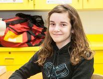 Vermilion Elementary School student Natalie Symes. Taylor Hermiston/Vermilion Standard/Postmedia Network.