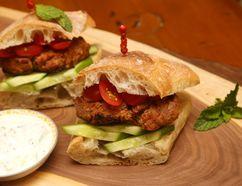 Indian Burger. (MIKE HENSEN, The London Free Press)