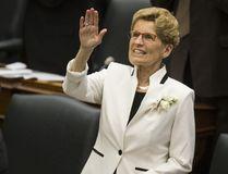 Premier Kathleen Wynne at Queen's Park on Thursday, April 27, 2017. (Craig Robertson/Toronto Sun)