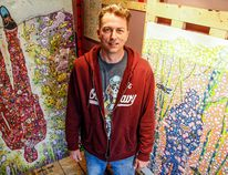 BEA SERDON/The Intelligencer Artist Robert Tokley.