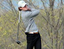 Ursuline College Chatham graduate Brendan Seys of Port Lambton is on the Wayne State Warriors golf team. (GLIAC Media Relations)