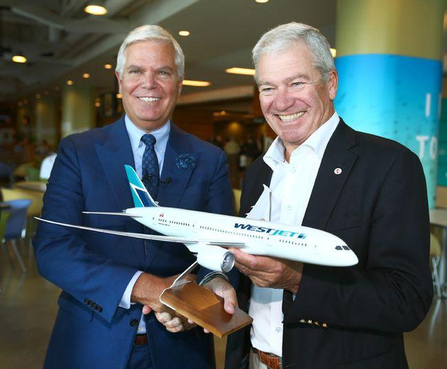 WestJet Airlines' Gregg Saretsky & Clive Beddoe