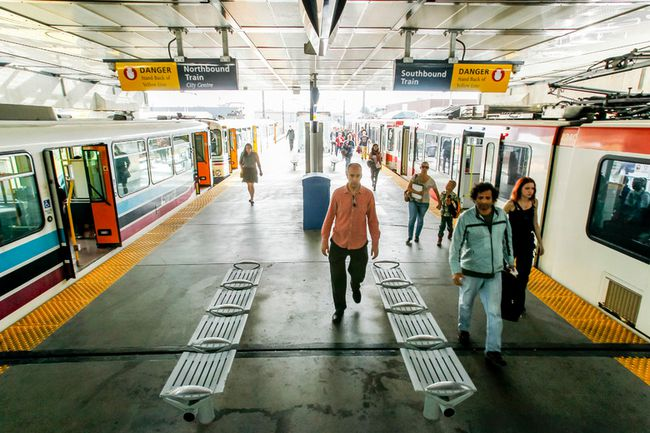 CTrain station platform