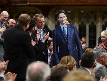 Justin Trudeau cutout May 9/17