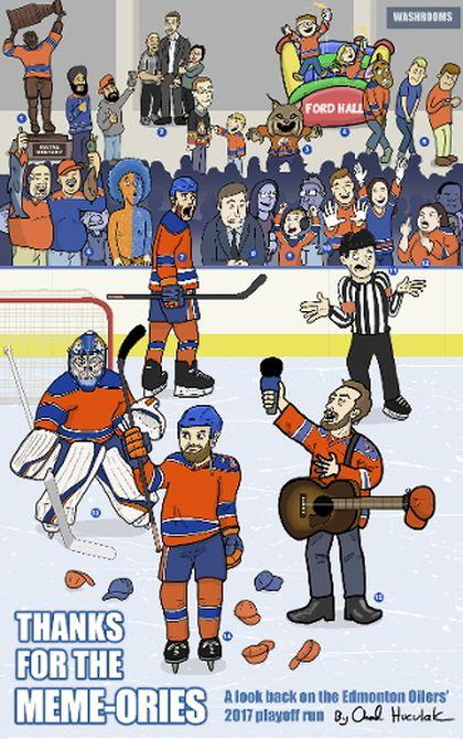 Oilers cartoon