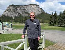 Randy Stevens is a returning golf course ambassador at the Banff Springs Golf Club.