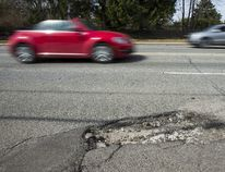 Don't underestimate the destructive power of potholes
