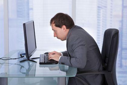 poor work posture