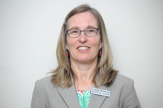Michele Feser, Fort Saskatchewan Library director
