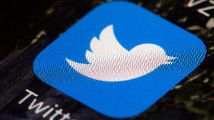 Twitter app logo on mobile phone