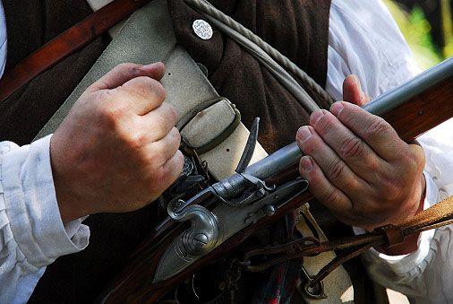 Grisly find: Human blood discovered on U.S. Revolutionary War shrapnel