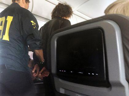 American Airlines flight disturbance
