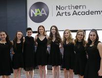 Northern Arts Academy's ooncert choir won gold at MusicFest. (Supplied Photo)