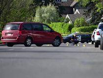 Crime scene on Elbow Drive