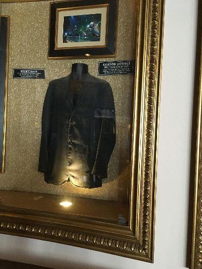 Gord Downie's jacket at the Hard Rock Cafe. (Joe Warmington/Toronto Sun)