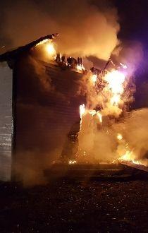 McDougall Church fire