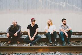 Jordan Gibbons and her Southtown bandmates (Photo courtesy MusicSouthtown.com)