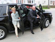 Ontario Premier Kathleen Wynne arrived in Timmins Wednesday afternoon.  LEN GILLIS / Postmedia Network
