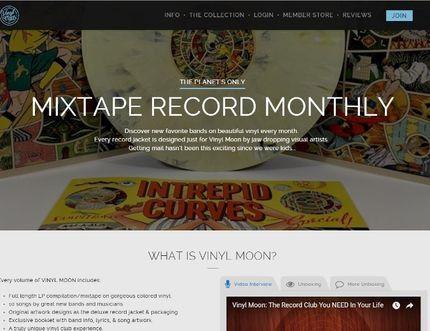 Vinyl Moon website: vinylmoon.co