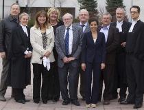 The defendants in a high-profile federal bid-rigging trial