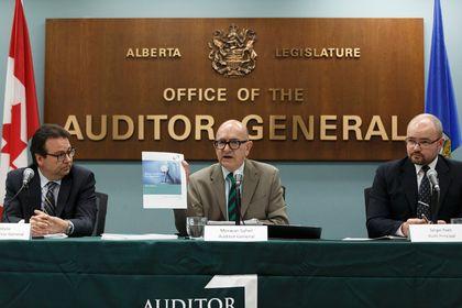 Auditor General Merwan Saher