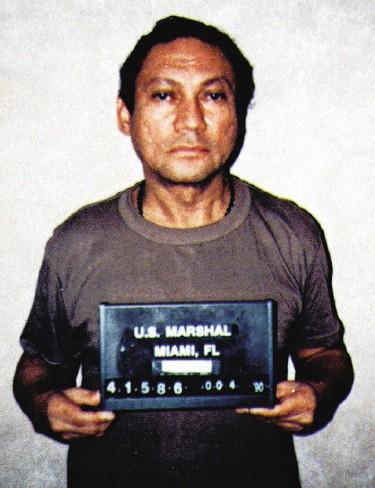 Panama's Manuel Noriega