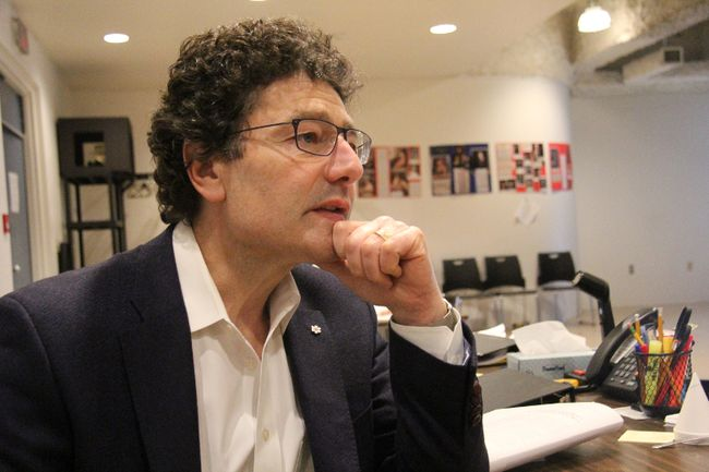 Stratford Festival artistic director Antoni Cimolino