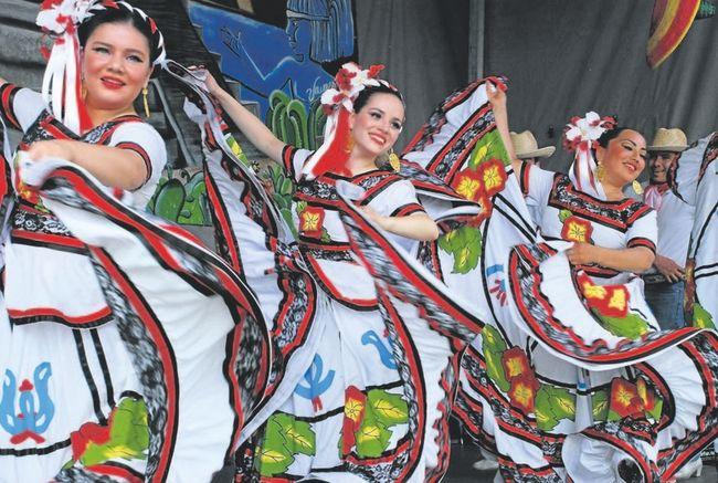 the annual fiesta london mexican festival runs sunday june 4 the