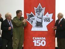 Canada 150 stamp
