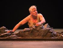 Joseph Ziegler as Timon in Timon of Athens. (Photography by Cylla von Tiedeman)