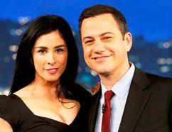 Sarah Silverman and Jimmy Kimmel.
