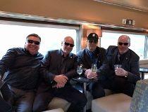 Akyroyd on VIA Train