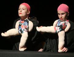 The Merkin Sisters featuring Ingrid Hansen and Stephanie Morin-Robert (MIKE HENSEN, The London Free Press)